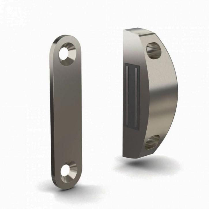 Verschraubbarer Magnetverschluss mit Schliessblech, Kraft 4kg