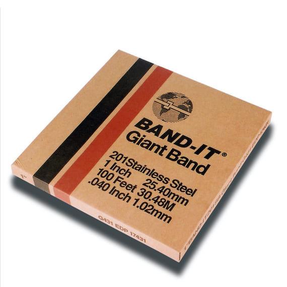 BAND-IT® GIANT Edelstahlband 25.4 x 1.1 mm; Edelstahl V2A