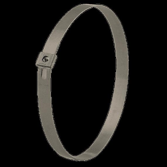 BAND-IT® • Tie-Lok® Band 419 x 6.4 mm; Edelstahl V2A