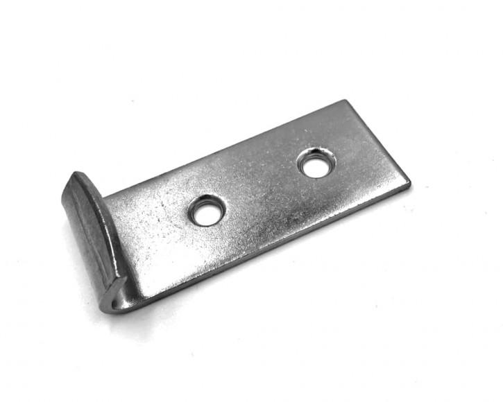 Gegenhaken gebohrt und gesenkt; Stahl unbehandelt