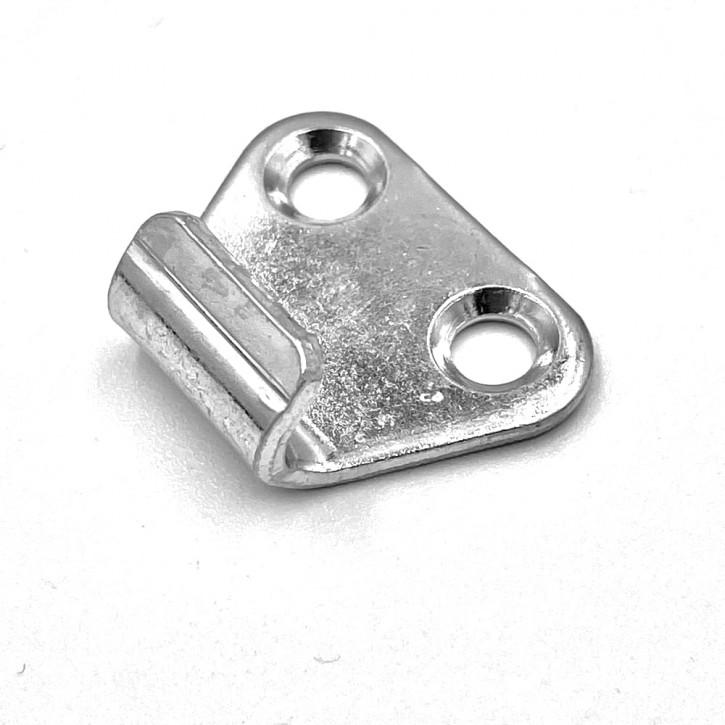 Gegenhaken gebohrt und gesenkt; Stahl verzinkt