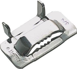 BAND-IT® EAR LOKT Schlaufe 15.9 mm; Edelstahl V2A