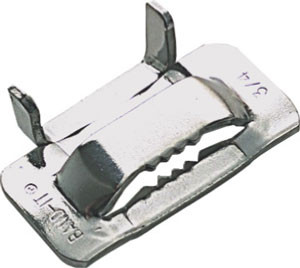 BAND-IT® EAR LOKT Schlaufe 12.7 mm; Edelstahl V2A