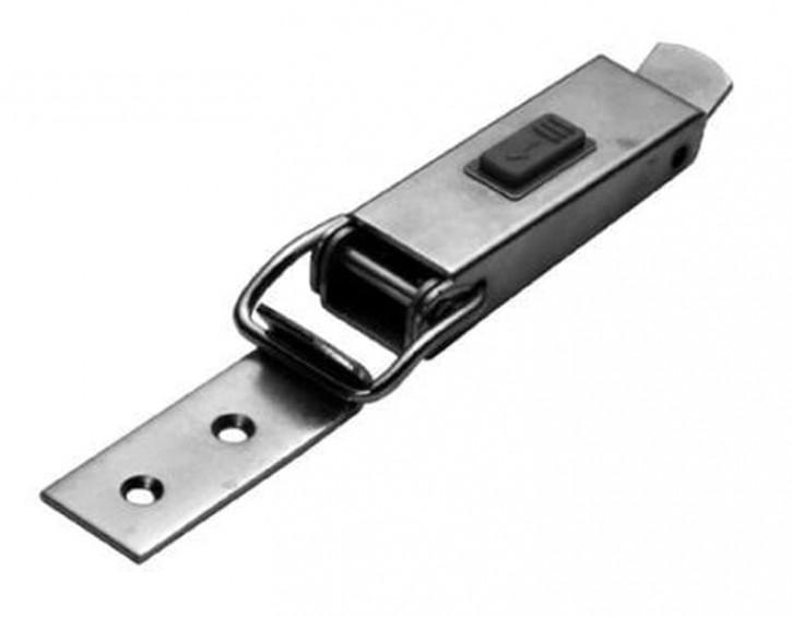 Spannverschluss mit Sicherheitsverriegelung; Stahl vernickelt