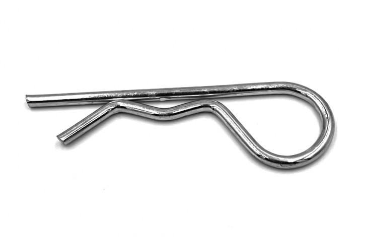 Federstecker einfach 3 mm; Stahl verzinkt