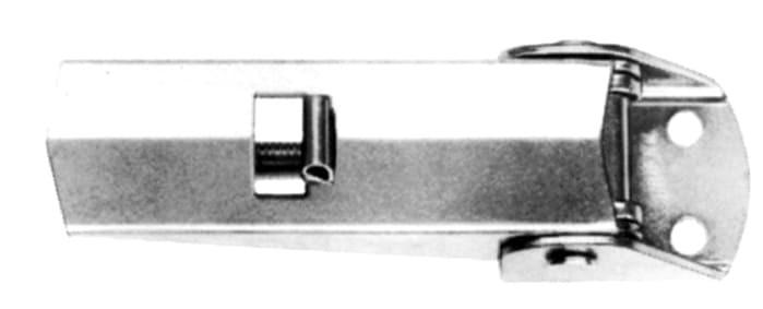 Spannverschluss, Loch Ø 5.1mm - mit Sicherung & offener Basis