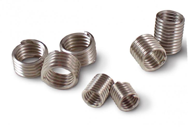 100 Stück Zapfenlose Drahtgewindeeinsätze M12-1.75X1.5D Nitronic