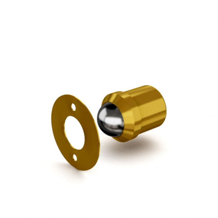Kugelschnäpper Ø 10mm; Messing