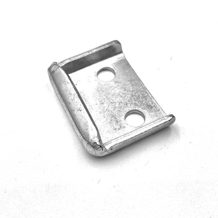 Gegenhaken gebohrt; Stahl verzinkt