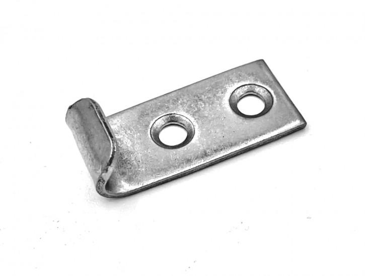 Gegenhaken gebohrt und gesenkt; Stahl vernickelt