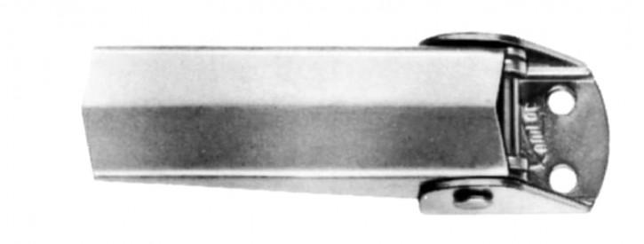 Spannverschluss Loch Ø 5.1mm - offene Basis; Stahl verzinkt