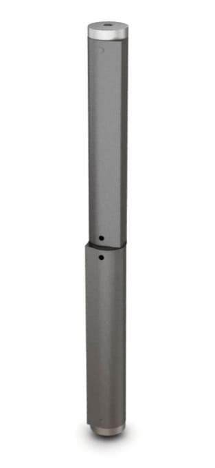 Fitschband mit integrierter Feder für Türen, 250x25 mm; Stahl roh