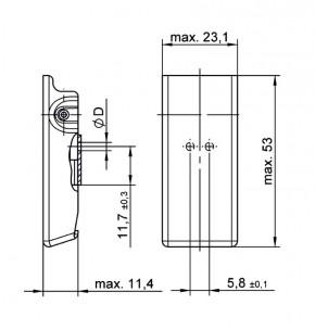 Spannverschluss Serie V96L - Toleranzausgleich durch Federpaket